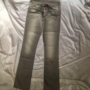 Guess Jeans Daredevil straight leg gray 23